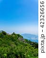 寒霞渓 初夏 山の写真 42326656