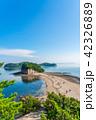 エンジェルロード 海 海岸の写真 42326889