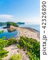 エンジェルロード 海 海岸の写真 42326890