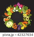 ベクトル 野菜 とまとのイラスト 42327634