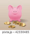 小銭 コイン 硬貨のイラスト 42330485
