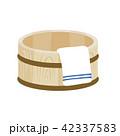 風呂桶 イラスト 42337583