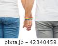 ゲイ カップル 二人の写真 42340459