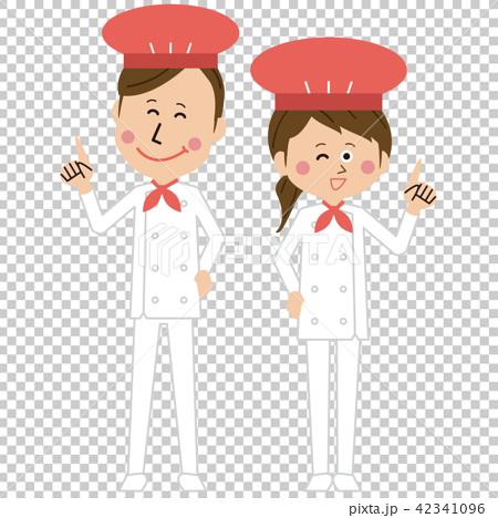 流行女厨师或面包师说指点 42341096