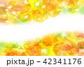 秋 イチョウ 紅葉のイラスト 42341176
