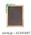 黒板のイラスト 42345897