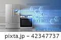 インターネット ベクトル 家電のイラスト 42347737