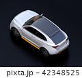 自動車 SUV 車のイラスト 42348525