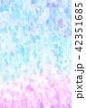 背景素材 水彩テクスチャー 虹 レインボー 42351685