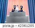ウェディング ウエディング 結婚の写真 42361205