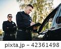 取り締まる 車 自動車の写真 42361498