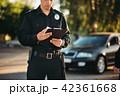 車 自動車 警察の写真 42361668