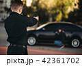 取り締まる 車 自動車の写真 42361702
