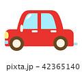 車 自動車 乗用車のイラスト 42365140