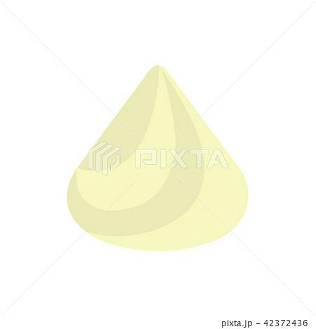 生クリームホイップクリーム イラストのイラスト素材 42372436 Pixta