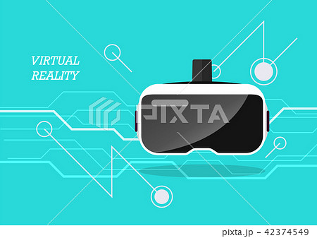 Virtual reality headset poster 42374549