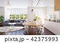キッチン 厨房 台所のイラスト 42375993