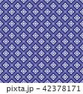 ジオメトリック 幾何学的 青のイラスト 42378171