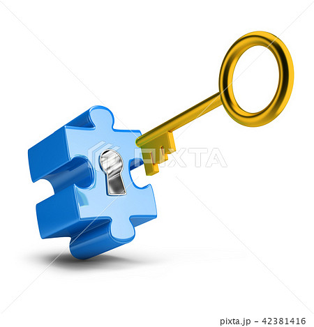key and puzzle 42381416