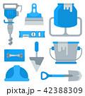 建物 工作 器具のイラスト 42388309