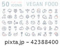 食 料理 食べ物のイラスト 42388400