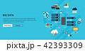 ビッグデータ クラウド クラウドコンピューティングのイラスト 42393309