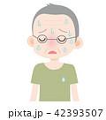 熱中症 症状 汗だくのイラスト 42393507