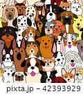 ベクター 動物 犬のイラスト 42393929