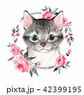 イラスト ねこ ネコのイラスト 42399195
