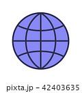 地球 アイコン イコンのイラスト 42403635