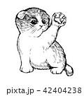 ねこ ネコ 猫のイラスト 42404238