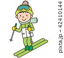 スキー スキー場 42410144