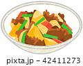 肉じゃが 家庭料理 食べ物のイラスト 42411273