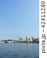 横浜 マリンタワー 青空の写真 42411280