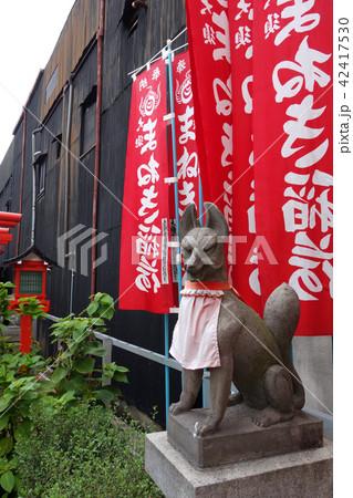 日本 愛知 名古屋 大須 まねき稲荷の狐 Japan Aichi Nagoya Osu 42417530