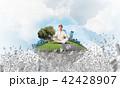 バランス 平衡 均衡の写真 42428907