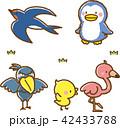 動物素材セット2(鳥) 42433788
