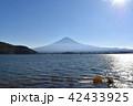 河口湖 冨士山 富士の写真 42433925