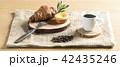パン 食事 トレイの写真 42435246