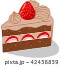 チョコレートケーキ 42436839