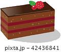 チョコレートケーキ 42436841
