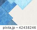 デニム風 シンプル テクスチャー 42438246