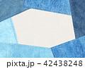 デニム風 シンプル テクスチャー 42438248