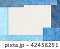 デニム風 シンプル テクスチャー 42438251