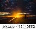 日の出 朝焼け 朝日 42440552