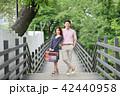 カップル デート 旅行の写真 42440958