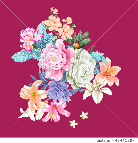 透明水彩 水彩画 薔薇 42441587
