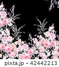 透明水彩 水彩画 花のイラスト 42442213
