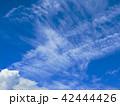 青空と雲 42444426
