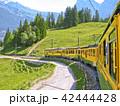 スイス 登山鉄道 42444428